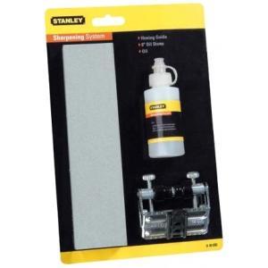 Набор для заточки стамесок (брусок, направляющая), STANLEY, 0-16-050