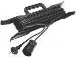 Удлинитель-шнур на рамке ПВС (2х0,75/6 А) 50 м, FIT, 83194