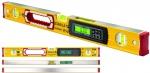 Уровень тип 196-2 electronic IP 65, 80 см, 2 вертикальных, 1 горизонтыльный, 2 ЖК дисплея, точность 0,5 мм/м, STABILA, 17671