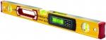 Уровень тип 196-2-M electronic IP 65, 61 см, 2 вертикальных, 1 горизонтыльный, 2 ЖК дисплея, точность 0,5 мм/м, STABILA, 17677